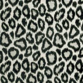 Clarke and Clarke BW1039 Black and White Curtain Fabric
