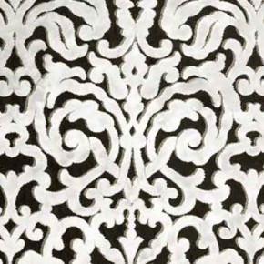 Clarke and Clarke BW1043 Black and White Curtain Fabric