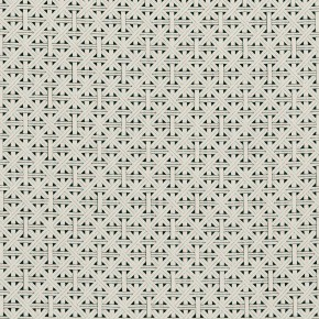 Clarke and Clarke  Colony Cabana Charcoal Curtain Fabric