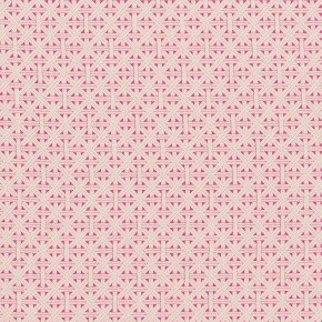 Clarke and Clarke  Colony Cabana Fuchsia Curtain Fabric