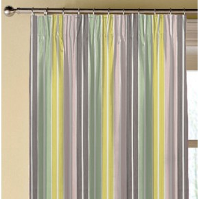 Clarke and Clarke Folia Albi Sorbet Made to Measure Curtains