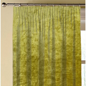 Clarke and Clarke Allure Chartreuse Made to Measure Curtains