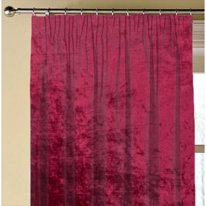 Clarke and Clarke Allure Claret Made to Measure Curtains