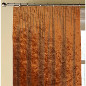 Clarke and Clarke Allure Copper Made to Measure Curtains
