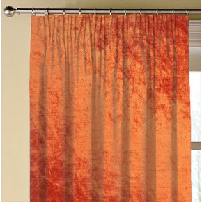 Clarke and Clarke Allure Flame Made to Measure Curtains