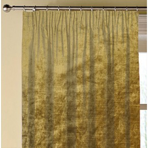 Clarke and Clarke Allure Gold Made to Measure Curtains