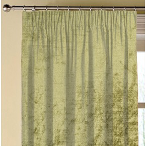 Clarke and Clarke Allure Olive Made to Measure Curtains