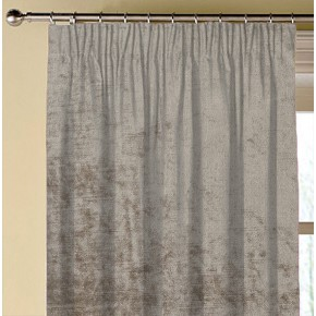 Clarke and Clarke Allure Taupe Made to Measure Curtains