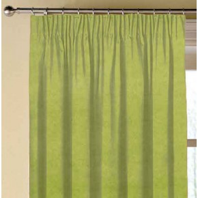 Clarke and Clarke Alvar Citron Made to Measure Curtains