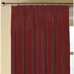 Clarke and Clarke Alvar Flame Made to Measure Curtains
