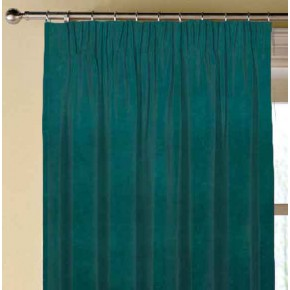 Clarke and Clarke Gustavo Alvar Teal Made to Measure Curtains
