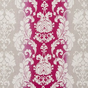 Traviata Camelia Fuchsia Curtain Fabric