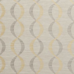 Clarke and Clarke Holland Park Campden Chartreuse Curtain Fabric