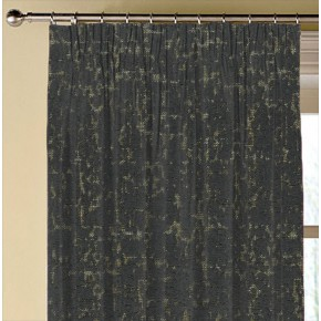 Clarke and Clarke  Colony Anguilla Charcoal Made to Measure Curtains