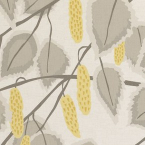 Clarke and Clarke La Vie Cannes Chartreuse Curtain Fabric