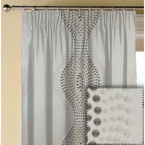 Prestigious Clarke Cosmopolitan Arabesque Oyster Made to Measure Curtains
