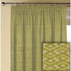 Prestigious Textiles Metro Ariel Lime Made to Measure Curtains