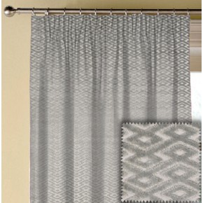 Prestigious Textiles Metro Ariel Silver Made to Measure Curtains