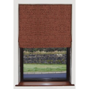 Clarke and Clarke Casanova Earth Roman Blind