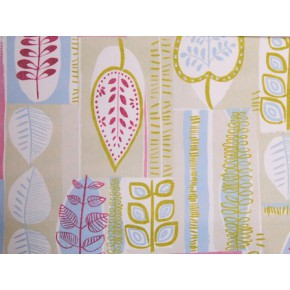 Linden Cascade Sage Curtain Fabric