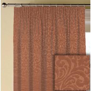 Prestigious Textiles Devonshire Ashburton Paprika Made to Measure Curtains