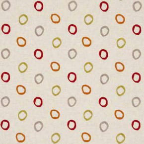 Clarke and Clarke Gustavo Casper Spice Curtain Fabric