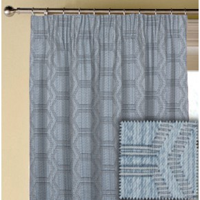 Prestigious Textiles Eden Avena Bluebell Made to Measure Curtains