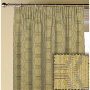 Prestigious Textiles Eden Avena Chartreuse Made to Measure Curtains