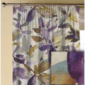 Prestigious Textiles Iona Azzuro Orchid Made to Measure Curtains