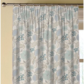 Clarke and Clarke Blighty Banbury Duckegg Made to Measure Curtains