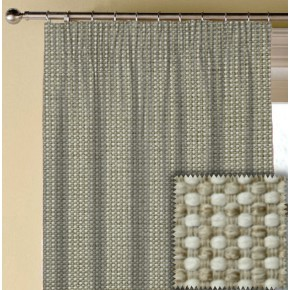 Prestigious Textiles Perception BasketWeave Natural Made to Measure Curtains