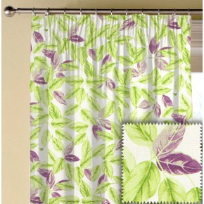 Prestigious Textiles Pickle Bayleaf Lavender Made to Measure Curtains