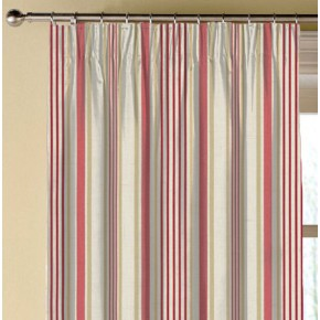 Clarke and Clarke Genevieve Belle OldRose Made to Measure Curtains