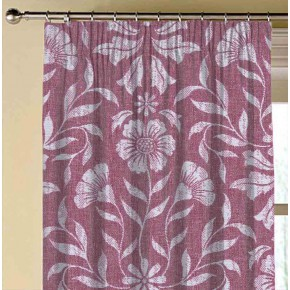 Avebury Berkeley Raspberry Made to Measure Curtains