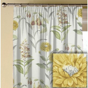 Prestigious Textiles Charterhouse Bloomingdale Acacia Made to Measure Curtains