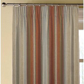 Prestigious Textiles Highlands Braemar Auburn Made to Measure Curtains