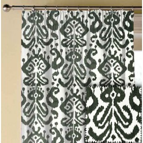 Clarke and Clarke BW1018 Black and White Made to Measure Curtains