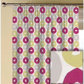 Clarke and Clarke La Vie Byblos Summer Made to Measure Curtains