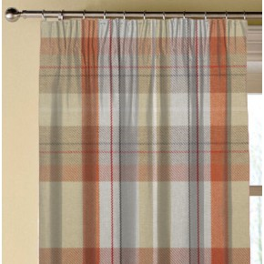 Prestigious Textiles Highlands Cairngorm Auburn Made to Measure Curtains