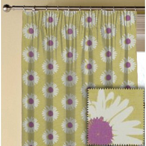 Clarke and Clarke La Vie Capri Berry Made to Measure Curtains