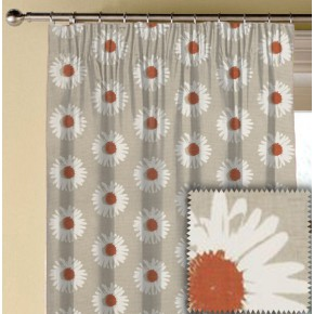 Clarke and Clarke La Vie Capri Spice Made to Measure Curtains