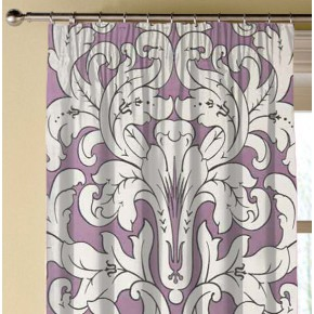 Clarke and Clarke Chateau Chateau Violet Made to Measure Curtains