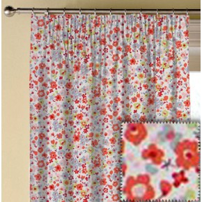 Clarke and Clarke Garden Party Confetti Multi Made to Measure Curtains