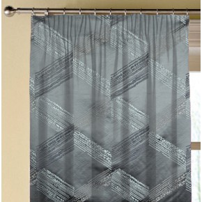 Prestigious Textiles Focus Connect Zinc Made to Measure Curtains