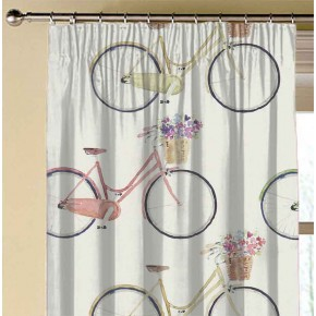 A Village Life  Cycles  Cream  Made to Measure Curtains