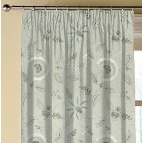 Clarke and Clarke Halcyon Delamere Duckegg Made to Measure Curtains