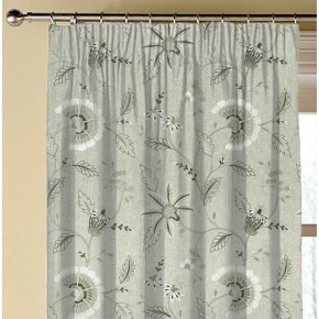 Clarke and Clarke Halcyon Delamere Natural Made to Measure Curtains
