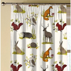 Clarke and Clarke Blighty Dunham Multi Made to Measure Curtains