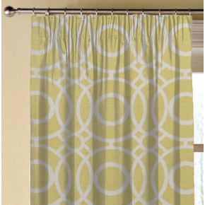 Clarke and Clarke Folia Eclipse Citrus Made to Measure Curtains