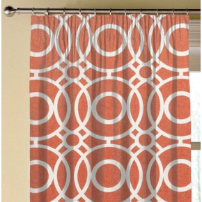Clarke and Clarke Folia Eclipse Spice Made to Measure Curtains